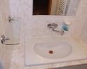 Koupelna apartmánu v podkroví | Ubytování Karlova Studánka