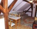 Posezení v apartmánu v podkroví | Ubytování Karlova Studánka